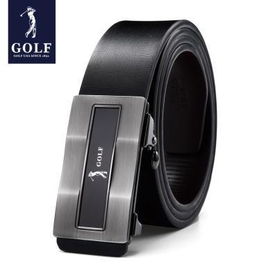 高尔夫GOLF男士皮带自动扣韩版商务牛皮腰带休闲男士腰带皮带 P933927