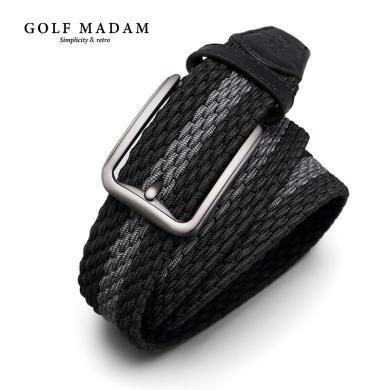 高爾夫男士皮帶帆布腰帶編織軍訓褲帶休閑男針扣潮青年學生年輕人 P915937