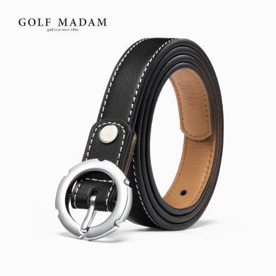 GOLF/高爾夫新品牛皮時尚百搭針扣女款腰帶女士皮帶  E917990