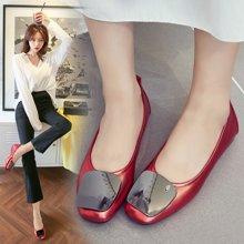 Simier女鞋时尚舒适百搭四季浅口单鞋X7500-2