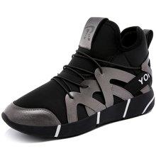 莫蕾蔻蕾2019新款女鞋休闲运动跑步鞋舒适百搭显瘦圆头增高时尚潮流72285