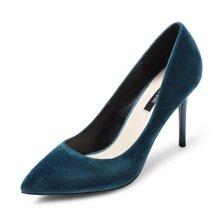 honeyGIRL女鞋尖头超高跟鞋性感细跟鞋女浅口单鞋子HG17FA10-XT192