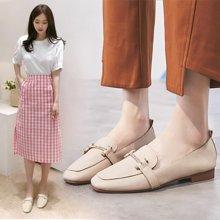 奶奶鞋女新款平底小单鞋韩版百搭街拍软底豆豆鞋子一脚蹬LP630-8
