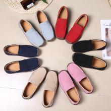 Simier女鞋舒适百搭平底鞋豆豆鞋单鞋X526