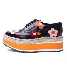 [支持購物卡]PRADA/普拉達女鞋 厚底鞋 貼花 1E417H奢侈品