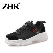 ZHR新款运动鞋女百搭单鞋ins老爹鞋冬加绒棉鞋网红女鞋松糕鞋