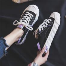 【3色可选】夏季爆款女鞋帆布鞋韩版街拍潮流休闲鞋  JN-JF115