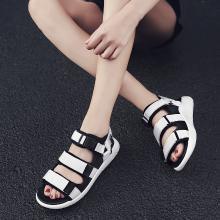 新款情侶沙灘涼鞋時尚羅馬涼鞋男女戶外休閑涼鞋FD-S1918