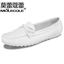 莫蕾蔻蕾2019新款豆豆鞋休闲鞋孕妇鞋平底单鞋女鞋 6Q306