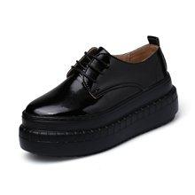 西瑞新款休闲鞋女韩版小单鞋增高女鞋松糕鞋MN1558