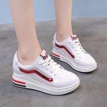 斯米尔女鞋夏季透气鞋子内增高休闲鞋女韩版舒适百搭X7767-5