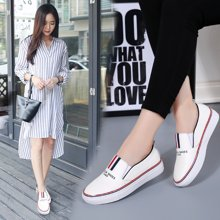 OKKO板鞋女鞋牛皮女士休闲皮鞋女小白鞋韩版运动鞋鞋子女x353