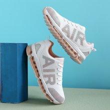 新款女鞋春季潮鞋百搭休闲运动鞋青少年鞋子跑步鞋情侣气垫鞋MNDA61