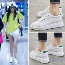 Simier女鞋内增高小白鞋百搭运动鞋休闲鞋运动鞋X629