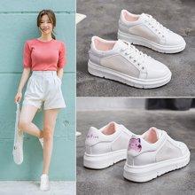 Simier运动鞋女鞋休闲小白鞋网面增高休闲鞋X6056