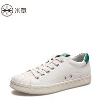米基新款女鞋貝殼板鞋女韓版ulzzang原宿百搭小白鞋女學生YD-T77