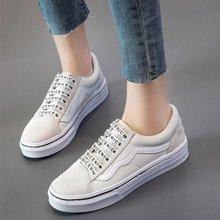 搭歌新品女鞋3D彩印休闲单鞋百搭学生鞋经典款系带板鞋 1809