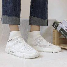 女鞋ins弹力袜子鞋女新款韩版百搭学生ulzzang嘻哈运动小白鞋MX7998