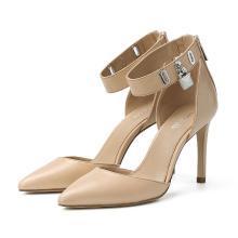 [支持購物卡]MK/邁克高仕 MK女鞋時尚潮流夏季經典百搭高跟鞋尖頭單鞋高跟鞋 40R8ATHS1L