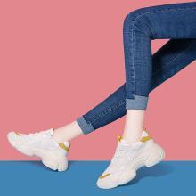 搭歌2019春季新款运动休闲鞋内增高跑步鞋女鞋MO9168