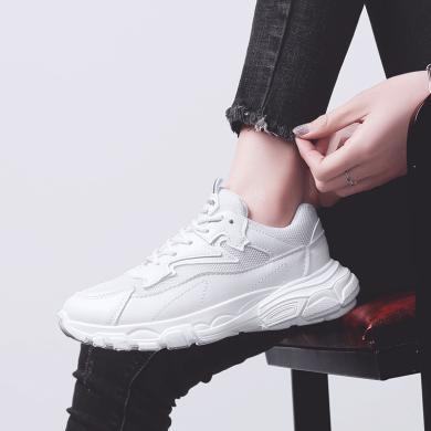 MIJI女鞋新款网红阿甘鞋ins老爹鞋运动鞋潮鞋小白鞋YONGGE-B01