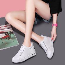 搭歌2019春季新款韩版百搭低帮内增高系带休闲学生女鞋MO9110