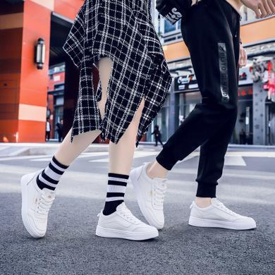 西瑞新款休閑板鞋時尚情侶小白鞋男女鞋ALK365