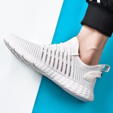 OKKO2019新品休閑運動女鞋超輕跑步鞋情侶鞋舒適透氣男鞋ZG6850