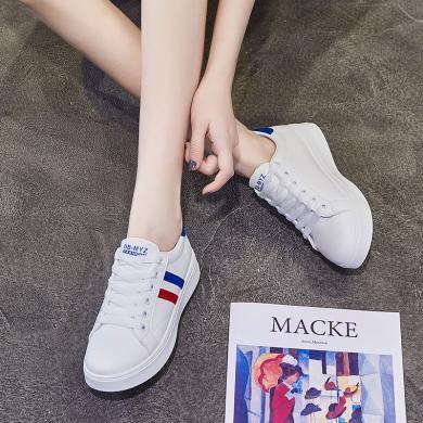 新款休閑板鞋女時尚經典小白鞋時尚女鞋YC-S21