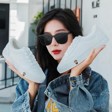 100KM猩猩猴 棉鞋女冬季保暖加絨韓新款板鞋學生休閑女鞋百搭小白鞋