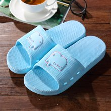 极有家情侣家居家用室内洗澡防滑厚底漏水塑料凉拖鞋17040