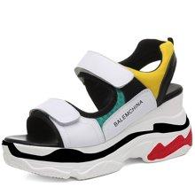 金丝兔女凉鞋夏季新款舒适耐磨女鞋运动休闲沙滩凉鞋