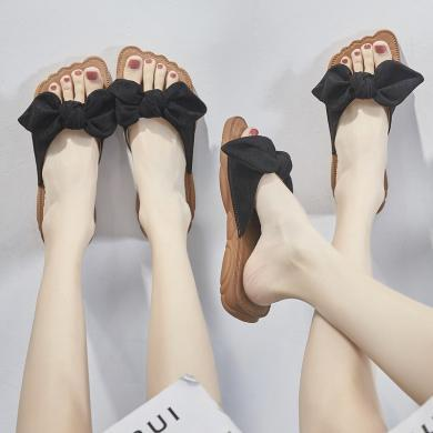 潮牌网红同款泰拖鞋女夏时尚外穿2019新款韩版百搭凉拖鞋LP2201-6