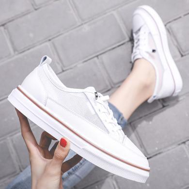 OKKO潮牌2019新款女鞋韩版潮流时尚小白鞋网布透气鞋MS-T1932