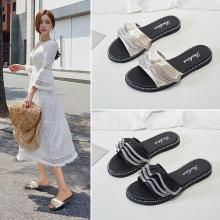 Simier女鞋2019夏季拖鞋平底女拖鞋X1988