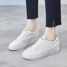 OKKO2019春夏新款小白鞋洞洞鞋休閑女鞋運動休閑鞋透氣板鞋LP18127