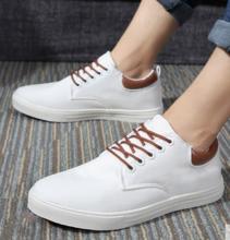 植木直男休闲鞋系带韩版潮低帮运动板鞋透气学生鞋子160504
