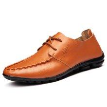 俊斯特 新款舒适豆豆鞋驾车鞋休闲皮鞋时尚男鞋子