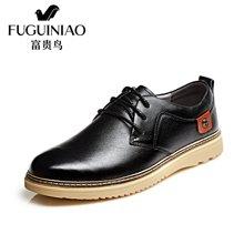 富贵鸟(FUGUINIAO)时尚男士生活休闲皮鞋 户外舒适男鞋 S750023
