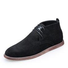 西瑞休闲鞋男切尔西鞋时尚反绒皮短靴DK88088