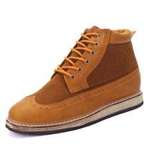 西瑞休闲鞋男男士高帮鞋时尚短靴厚底复古男鞋MFS172