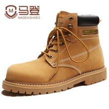 马登马丁靴男靴工装短靴子厚底大头男鞋踢不烂大黄靴复古潮鞋子 1703028