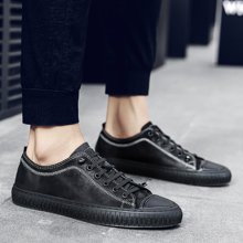 Simier2018款四季头层羊皮板鞋百搭板鞋休闲男鞋X9892