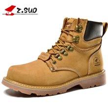 Z.Suo/走索男鞋马丁靴男男士军靴潮流男靴子工装靴大黄靴男 ZS16508