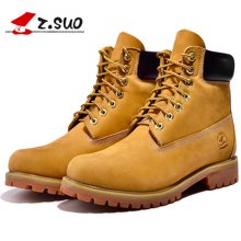 Z.Suo/走索男鞋英伦马丁靴男工装靴男军靴短靴大黄靴子男 ZS10061