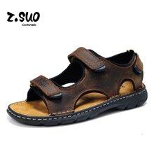 Z.Suo/走索夏季時尚流行男鞋子男士涼鞋潮流沙灘透氣涼拖 ZS801