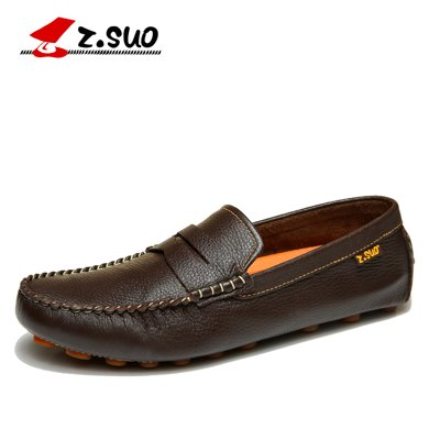 Z.Suo/走索男鞋豆豆鞋男士休閑鞋低幫鞋男透氣韓版潮鞋 ZS0318Y