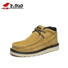 Z.Suo/走索男靴英伦马丁靴系带男板鞋男士短靴潮高帮男鞋 ZS020