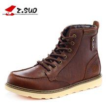 Z.Suo/走索男鞋英伦马丁靴男工装靴潮流靴子皮靴雪地男靴 ZS15086