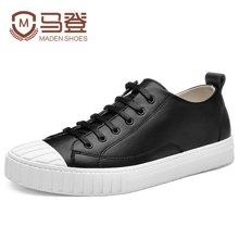 马登时尚男士休闲鞋板鞋韩版鞋子男英伦潮鞋男鞋 1612148